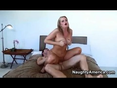 Blonde MILF Fucks The Delivery Boy