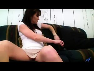 Glamour milf loves fucking toys and hard cock